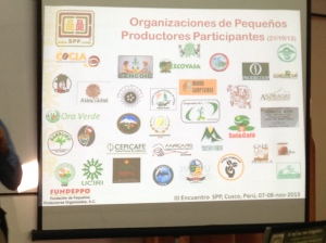 A graphic showing the newest small producer organizations to join the SPP system.