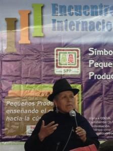 Rosa Guaman, Executive Director, Jambi Kiwa, Ecuador