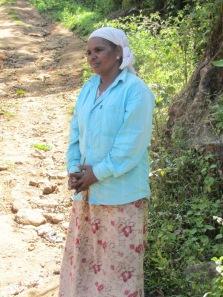 Jolly Sukumaran, one of the Adivasi tea farmers